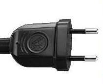 India Electrical Plug - 6 Amp 2 Pin Plug