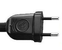india electrical plug - 6 amp 2 pin plug