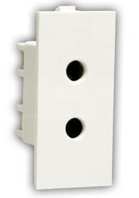 Indian Electrical Plug - 6 Amp 2 Pin Socket